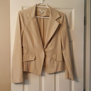 Tan lightweight blazer